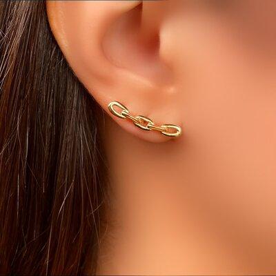 Brinco Ear Cuff Elo