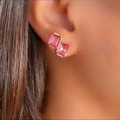 Brinco Ear Cuff Kunzita