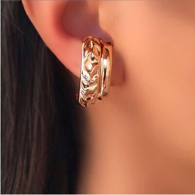 Brinco ear hook formas