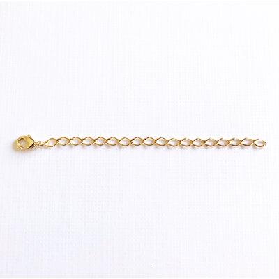 Extensor no banho ouro 18k (7cm de comprimento)