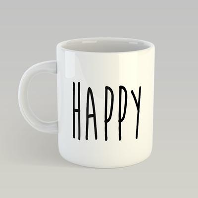 Caneca Happy
