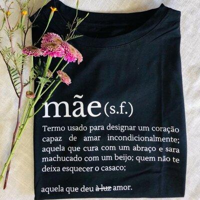 T-shirt Mãe Dicionário