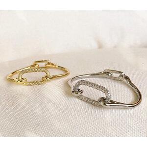 Bracelete Mosquetão (escolha a cor)