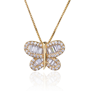 Colar Butterfly Gold