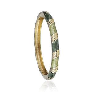 Bracelete Esmaltado Luli Verde