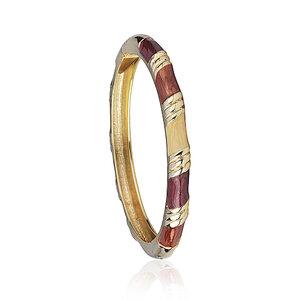 Bracelete Esmaltado Luli Terracota