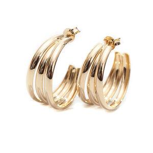 Argola Tripla Gold