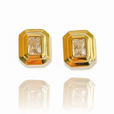 Brinco Square Gold