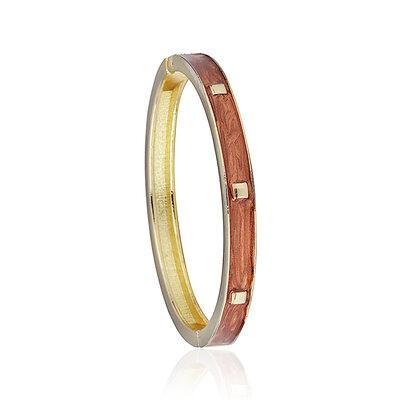 Bracelete Esmaltado Terracota