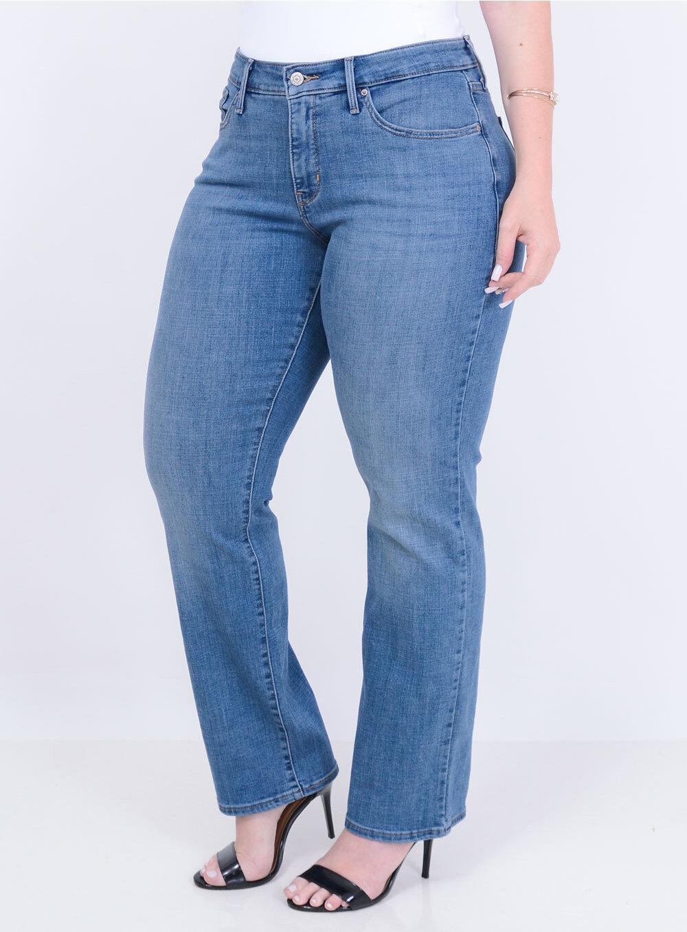 16e018afa Calça Levi s Jeans Feminina 314 Shaping Straight Índigo Best Size - Loja  Virtual de Moda Plus Size