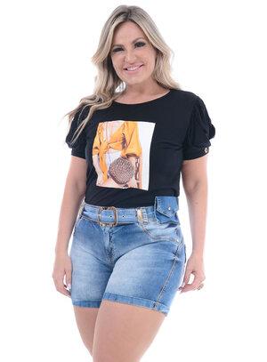 Blusa Plus Size Genuína