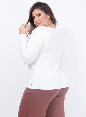 Blusa Melinde Básica Plus Size