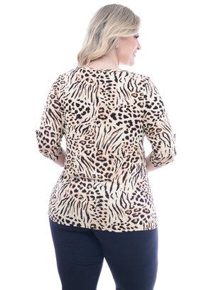 Blusa Plus Size Egito