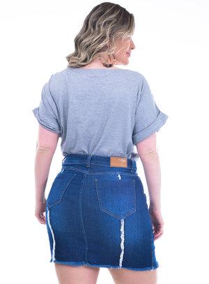 T-Shirt Plus Size Jasmim