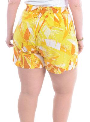 Shorts Plus Size Atrativo