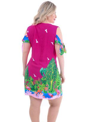 Vestido Plus Size Jamilly