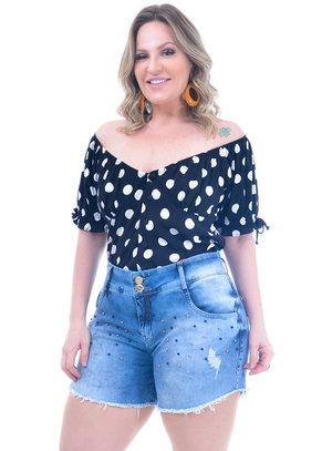 Blusa Plus Size Graciosa