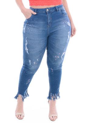 Calça Jeans Plus Size Pluto
