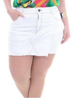 Shorts Saia Jeans Plus Size Rita