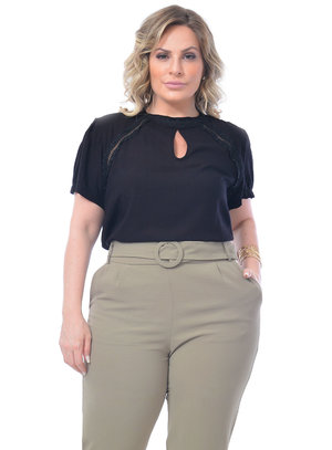 Blusa Plus Size Eliza