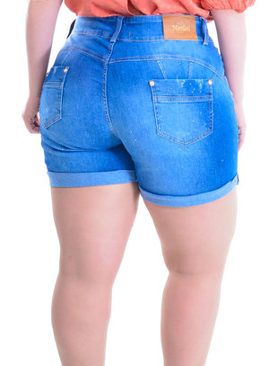 Shorts Plus Size Araguari
