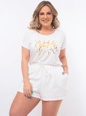 T-Shirt Plus Size Good Look