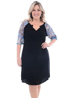 Vestido Plus Size Abacaxi