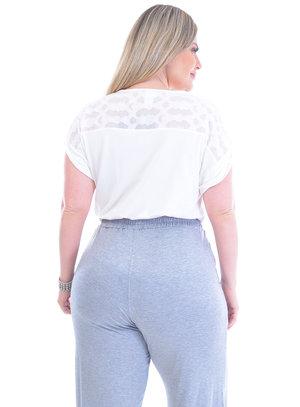 Blusa Plus Size Pequim