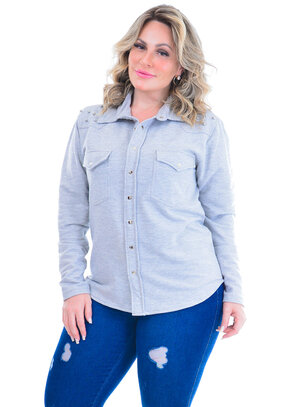 Casaco Plus Size Sandra