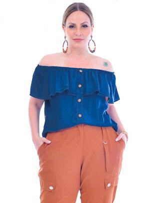 Blusa Plus Size Cléia