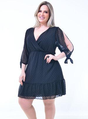 Vestido Plus Size Delicado