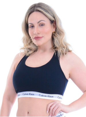 Top Plus Size Preto