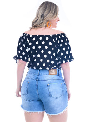 Blusa Plus Size Graciosa