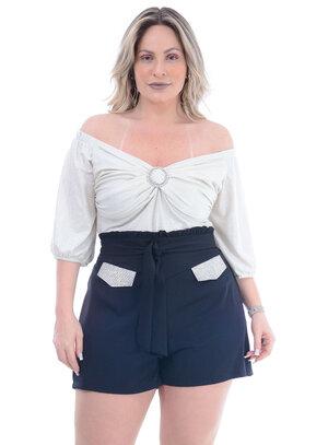 Blusa Plus Size Nova