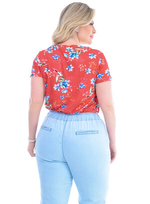 Blusa Plus Size Magali