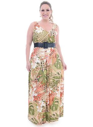 Vestido Plus Size Elegante