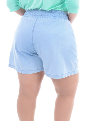 Shorts Plus Size Bacaba