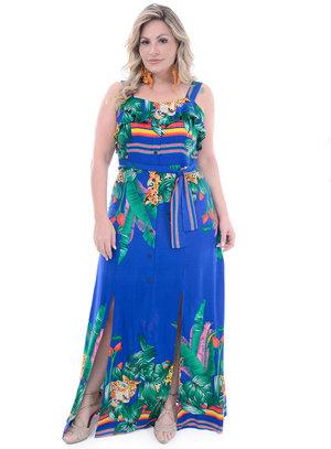 Vestido Plus Size Blenda