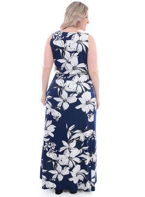 Vestido Longo Plus Size Selena