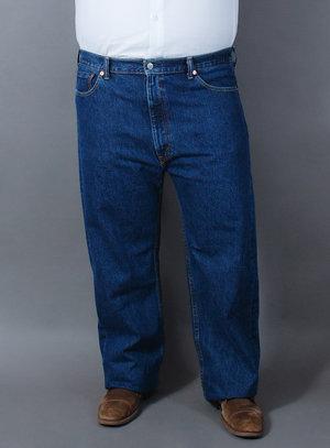 Calça Levi's Jeans Masculina 505 Regular Fit Lavagem Escura