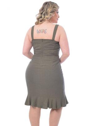 Vestido Plus Size Antonella