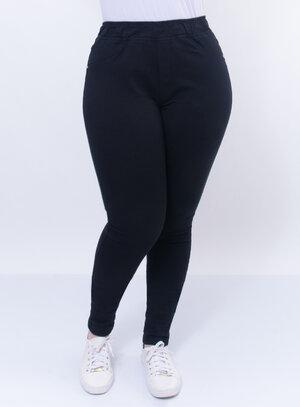 Calça Legging Plus Size Elástica