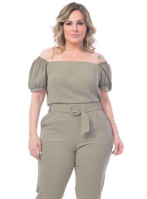 Cropped Plus Size Julia
