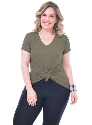 T-Shirt Plus Size Fátima