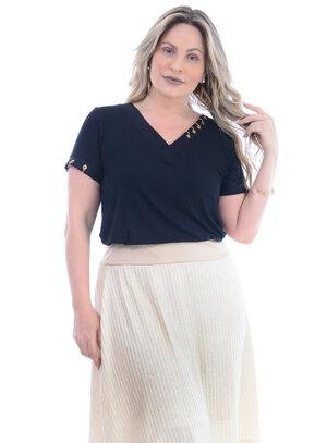 Blusa Plus Size Demais