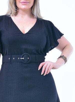 Vestido Plus Size Babado
