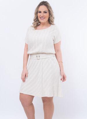 Vestido Plus Size Clássico