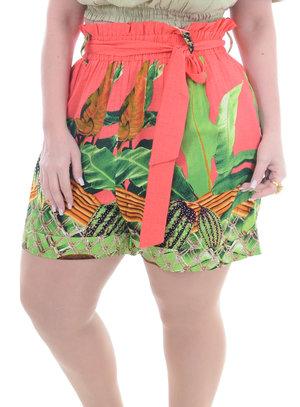 Shorts Plus Size Pérola