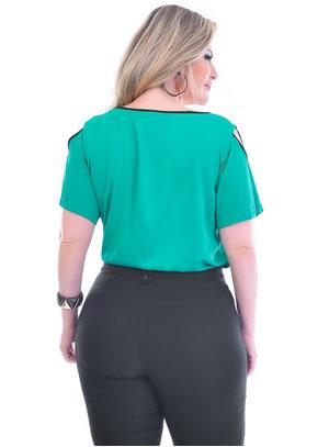 Blusa Plus Size Arantes