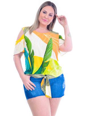 Blusa Plus Size Tânia